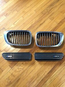 E46 M3 OEM Front and Side Grille