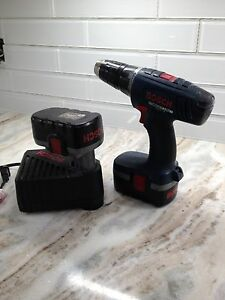 Drill and Battery Charger