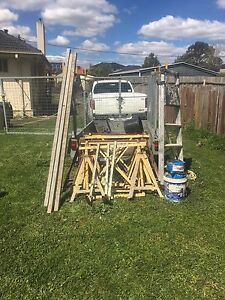 Bricklaying tools and trailer for sale Carrum Kingston Area Preview