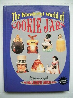 3500 Antique Cookie Jar Price Guide Collector's Book Hardback 448 pgs
