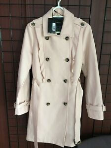 BRAND NEW IN WITH TAGS - RW&CO PASTEL PINK DRESS COAT - SIZE M