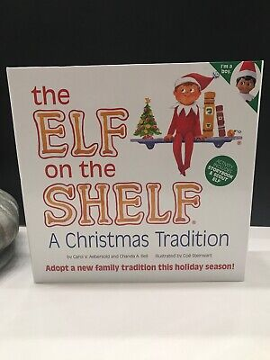 New Elf on the Shelf A Christmas Brown-Eyed Boy Dark Skin Scout