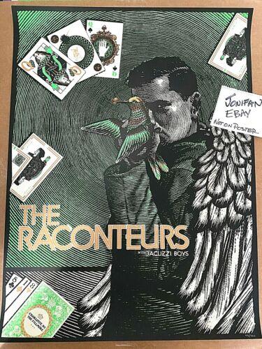 Raconteurs The Fillmore Charlotte NC 2019 Screen Print Poster #/360 Jack White