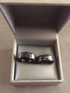 Matching Couples CAMO Ring Set••$45 for 1/$90 for both