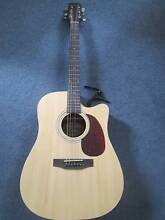 Timberidge Acoustic/Electric Cutaway Guitar + capo and carry case Balingup Donnybrook Area Preview