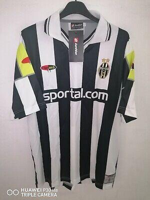 Maglia Juventus 2000-2001 Lotto versione Champions League Sportal.com XL nuova
