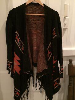 Vintage Aztec boho cardigan size M