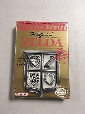 Nintendo NES The Legend Of Zelda Brand New Factory Sealed Original Classic