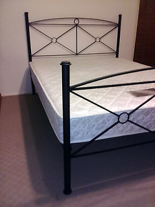 Queen bed with mattress, delivery available Springwood Logan Area Preview