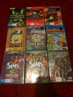 Pc games $6 for the lot
