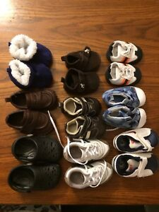Baby boys shoes lot