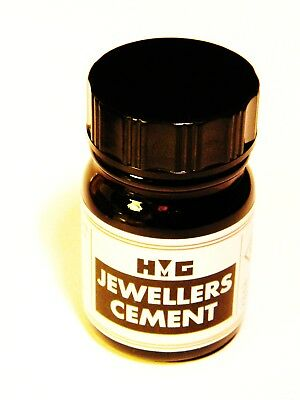 HMG Jewellers Cement Best Stone Setting Glue - Beads-Cabochons- Swarovski-Opals
