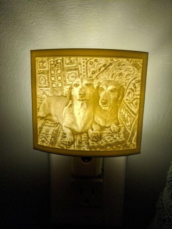 Personalized Nightlight. Illuminated artwork. Custom Lithophane. Nursery, home.