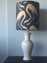 Flamingo lampshade with Italian ceramic lamp base Tamarama Eastern Suburbs Preview