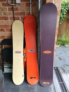 snowboard × 3 blanks extreme brand