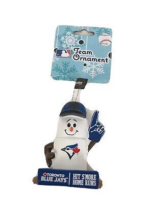 MLB Toronto Blue Jays HIT S'MORE HOME RUNS Baseball Fan Ornament