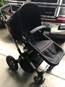 Bugaboo Cameleon 3 - Black with Bassinet and other accessories