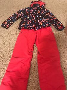 Girls winter jacket and snowpants (size 14)