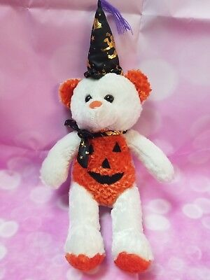 Halloween Pumpkin Bear Plush Toy Stuffed Animal 18