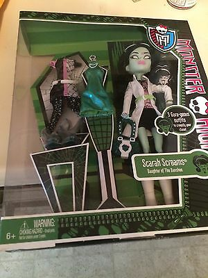 Monster High 2013 SCARAH SCREAMS TOYS R US EXCLUSIVE BNIB