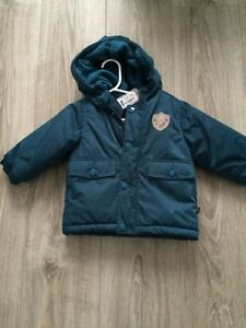Souris mini blue hooded jacket