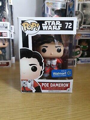 Star Wars Poe Dameron-72 (Walmart sticker) Funko Pop
