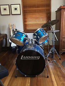 Drum kit Ludwig  Paiste cymbals North Parramatta Parramatta Area Preview