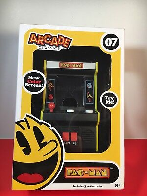 Pac-Man Arcade Classics #07 Handheld Mini Arcade Game (Color Screen) ©2017 NEW! for sale  Shipping to Canada