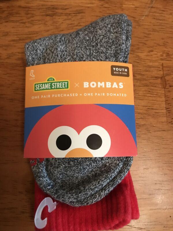 Sesame Street Elmo Bombas Youth Socks