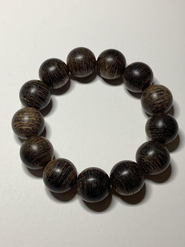 Agarwood Beads Bracelet/ Vòng trầm hương/ 越南沉香珠手链.