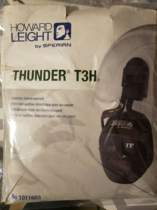 Howard Leight Thunder T3H Noise Cancelling Mounted Ear Muffs