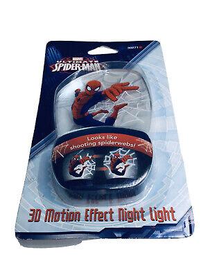 Marvel Spiderman Spider Man 3D Motion Effect Night Light Ultimate Night Light