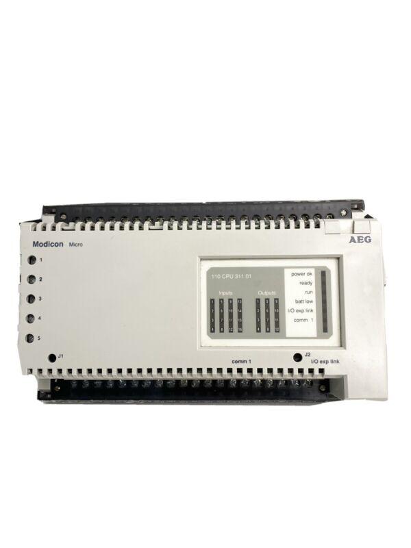 AEG Modicon 110 CPU 311 01 PLC Controller 110CPU31101 Schnieder Electric