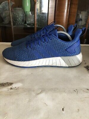 Adidas Questar Byd Trainers Size UK 8 'BLUE'