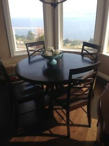 Dining Table and Chairs--$175