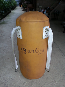 Punching bag guinuine  leather Altona Meadows Hobsons Bay Area Preview