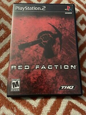 Red Faction (Sony PlayStation 2, 2002) - PS2 COMPLETE FREE SHIP TESTED for sale  Shipping to Nigeria