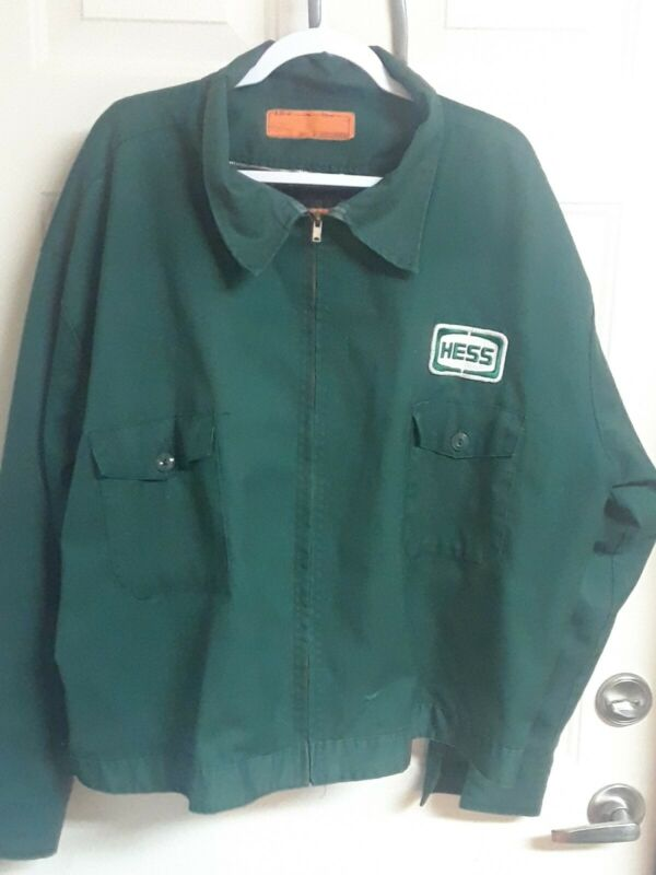Vintage Hess Jacket Gas Oil Size XXL and Hess Cap