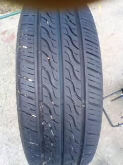 Au tyre and rim basically brand new