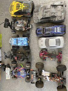 RC eletric cars and nitro