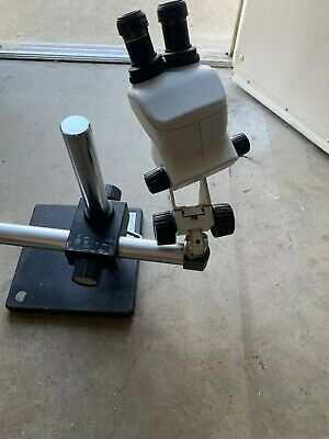 Nikon Smz 745 Stereozoom Microscope With Boom Stand And Eyepieces C-w10xb22