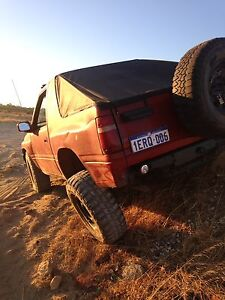 Holden frontera swb Port Kennedy Rockingham Area Preview