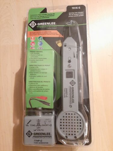Greenlee 701K-G NEW Tone and Probe Kit