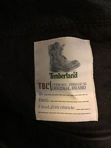 Timberlands pure leather jacket