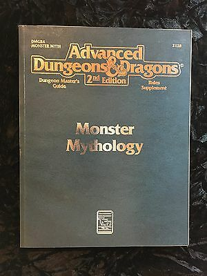 Advanced Dungeons & Dragons AD&D 2E - 2128 - Monster Mythology