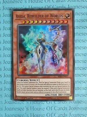 Japanese Yugioh RIRA-JP027 Avida Secret Rebuilder of Worlds