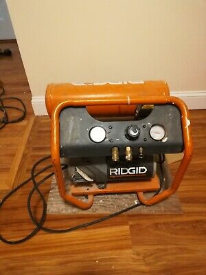 Ridgid 4.5gal Air Compressor Portable Industrial Used Local Pickup Only Ma02171