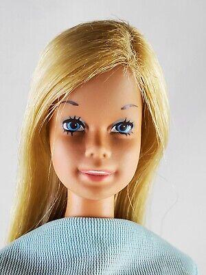 1971 Malibu Barbie doll made in Japan original blue swimsuit vintage