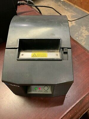 Verifone 55556-01-r Rev .a P540 Ruby Thermal Receipt Printer 24v Dc 2.0a