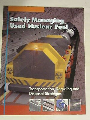 Safely Managing Used Nuclear Fuel NEI Education Flyer Free Shipping